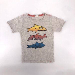 Appaman shark tee size 4T new without tags